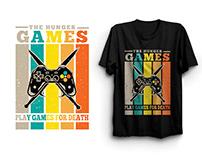 Retro Gaming T-shirt Design