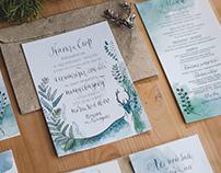 Polygraphy for foggy forest wedding
