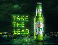 TUSKER LITE - TAKE THE LEAD.