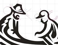 Логотип израильского сайта о семейных историях