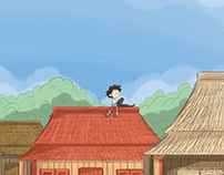 Picture Book - The Lonely Boy and The Ugly Dog