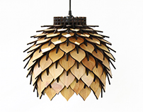 SporeLamp - Laser Cut Pendant Light