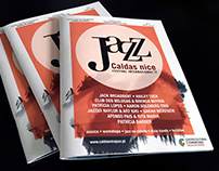 Festival Caldas nice Jazz '17 Agenda + Flyer 2 Faces