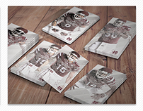 2015 Mississippi State Football Schedule Cards