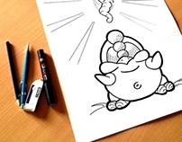 Piou - Fat Chicken #2 : Chicken and Worm