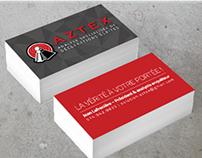 Aztex branding & brochure