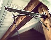 Stainless plant hanger