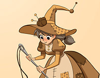 seamstress witch