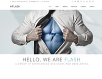 Flash - Retina Ready Responsive Parallax Template