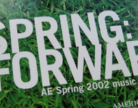 American Eagle Spring 2002 CD Music Sampler
