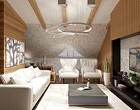 Mansard modern design