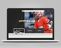 Nike Lacrosse.com  (Pitch)