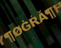 Typography Glyphogram