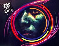 Holi Festival Flyer Template -Festival of Colors-