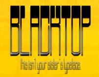 Blacktop Typeface