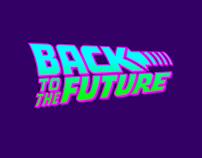 Títulos de crédito BACK TO THE FUTURE