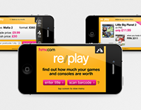 Re/play iOS Application