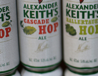 Alexander Keith's Hop Series Packaging