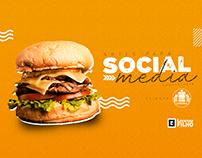 Social Media - Star Burger