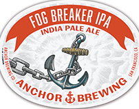 Fog Breaker IPA Label Illustrated by Steven Noble