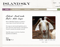Island Sky - Website Redesign