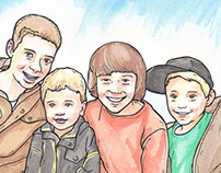Four Grandsons