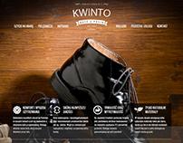 Kinto buty z pasją - wykonane za pomocą WebWave