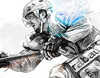 Schweizer Illustrierte – Sport Illustrations