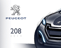 Concept Peugeot 208 2014