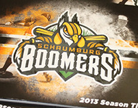 Schaumburg Boomers 2013 Season Ticket Book