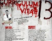 My Curriculum Vitae Creatif -HORROR SHOW-