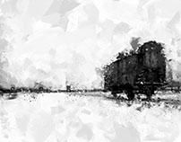 Never forget - Auschwitz Birkenau