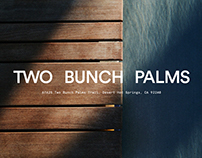 Two Bunch Palms Rebrand