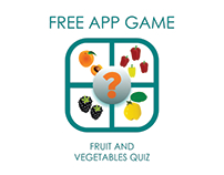 Free app game Fruit and Vegetables Quiz