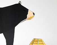 Fold Pattern (Bear and Beehive)