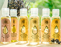 Organic Body Oil from Crimea