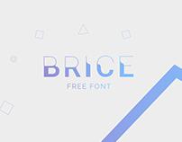 BRICE - Free font