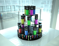 Maybelline Colorama Tower Concept