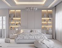 L Modern Bedroom ( Test Lighting )