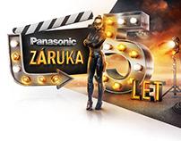 Panasonic - 5 let záruky