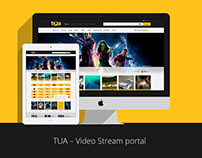 TUA.TV Video/Move Streaming Portal