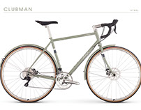 Raleigh Clubman Series Bicycle Design
