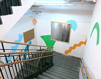 Shapes and Colors Mural & Display Space