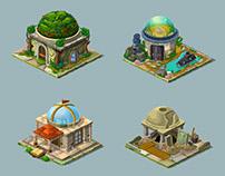 Magetale- Game Assets- Buildings