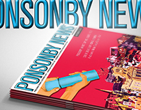 Ponsonby News Magazine Cover Design