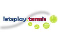 letsplay.tennis Logo Design