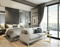 IDEO SIAMRT Condominium - 34 sqm
