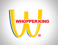 WHOPPER KING | Parody