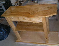 Wainy Edged Scottish Character Oak Unit