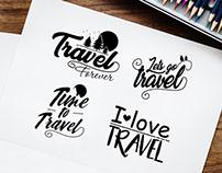 Free Travel Banner Vector Set